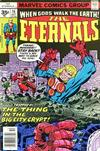 Cover for The Eternals (Marvel, 1976 series) #16 [35¢ Price Variant]