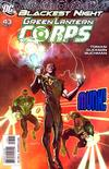 Cover Thumbnail for Green Lantern Corps (2006 series) #43 [Jose Ladronn Variant Cover]