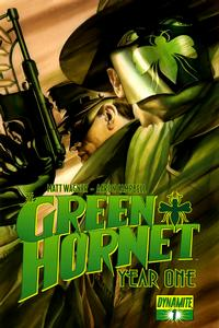 Cover Thumbnail for Green Hornet: Year One (Dynamite Entertainment, 2010 series) #1 [Cover A - Alex Ross]