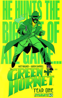 Cover Thumbnail for Green Hornet: Year One (Dynamite Entertainment, 2010 series) #3 [Cover A - John Cassaday]