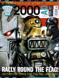 Cover Thumbnail for 2000 AD (Rebellion, 2001 series) #1677