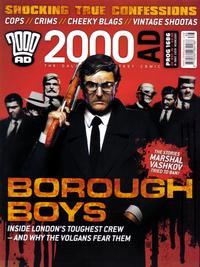 Cover Thumbnail for 2000 AD (Rebellion, 2001 series) #1686