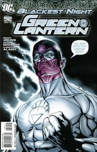 Cover Thumbnail for Green Lantern (DC, 2005 series) #52 [Standard Cover]