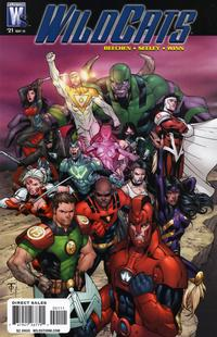 Cover Thumbnail for Wildcats (DC, 2008 series) #21