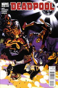 Cover for Deadpool (Marvel, 2008 series) #21
