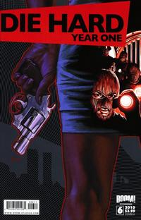 Cover Thumbnail for Die Hard: Year One (Boom! Studios, 2009 series) #6 [Cover A]