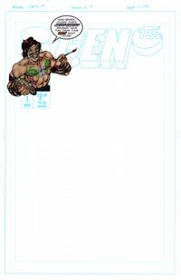 Cover Thumbnail for Gen 13 (Image, 1995 series) #1 [Do-It-Yourself-Cover Cover 1-M]