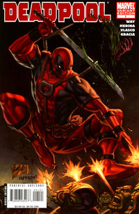 Cover Thumbnail for Deadpool (Marvel, 2008 series) #1 [Liefeld Cover]