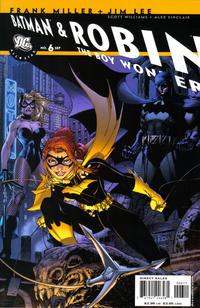 Cover Thumbnail for All Star Batman & Robin, the Boy Wonder (DC, 2005 series) #6 [Direct]