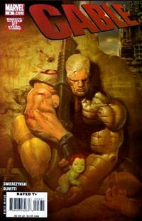 Cover for Cable (Marvel, 2008 series) #3 [Olivetti Cover]