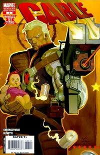 Cover Thumbnail for Cable (Marvel, 2008 series) #3 [Romita Jr. Cover]