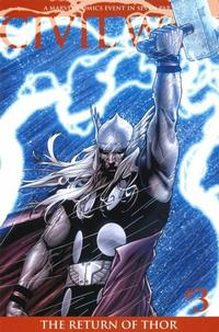 Cover Thumbnail for Civil War (Marvel, 2006 series) #3 [Second Printing]