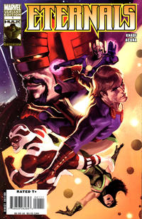 Cover Thumbnail for Eternals (Marvel, 2008 series) #1 [Incentive Marko Djurdjević Variant]