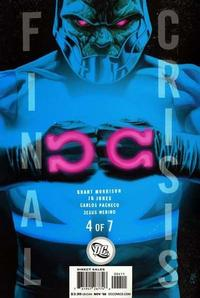 Cover Thumbnail for Final Crisis (DC, 2008 series) #4