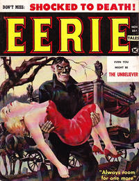Cover Thumbnail for Eerie Tales (Hastings Associates, 1959 series) #1