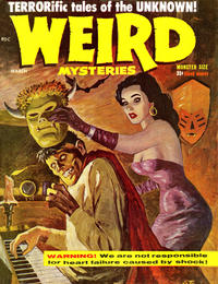 Cover Thumbnail for Weird Mysteries (Pastime Publications, 1959 series) #1