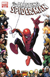 Cover Thumbnail for The Amazing Spider-Man (Marvel, 1999 series) #602 [Marvel 70th Anniversary Border]