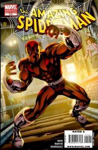 Cover Thumbnail for The Amazing Spider-Man (Marvel, 1999 series) #579 [Variant Edition]