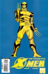 Cover Thumbnail for Astonishing X-Men (Marvel, 2004 series) #22 [Wolverine Cover]
