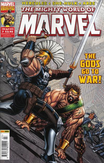 Cover for The Mighty World of Marvel (Panini UK, 2009 series) #7