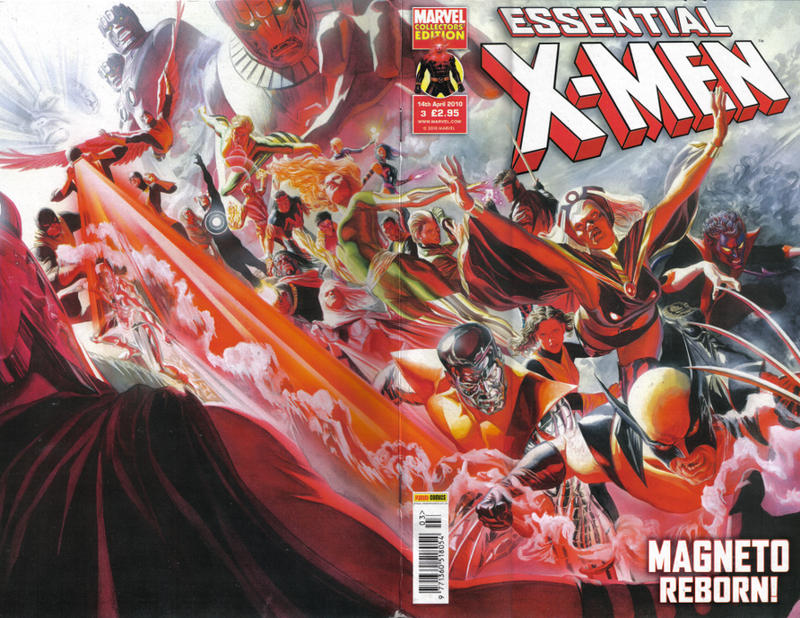 Cover for Essential X-Men (Panini UK, 2010 series) #3
