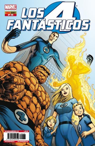 Cover for Los 4 Fantásticos (Panini España, 2008 series) #29