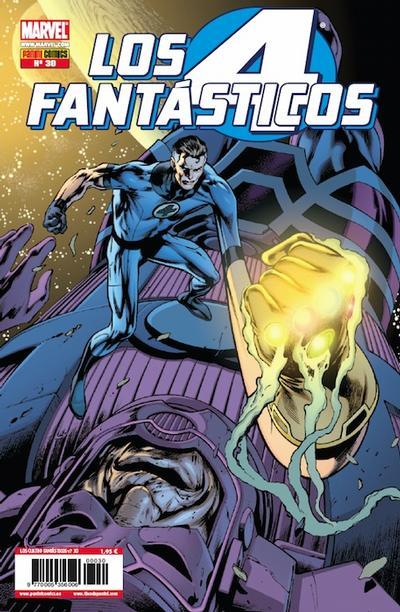 Cover for Los 4 Fantásticos (Panini España, 2008 series) #30