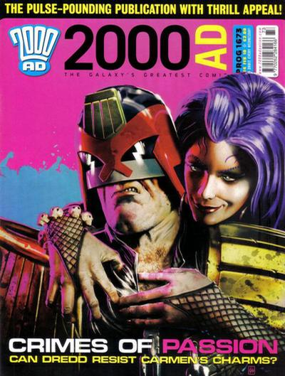 Cover for 2000 AD (Rebellion, 2001 series) #1673