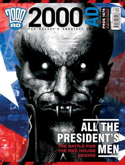 Cover for 2000 AD (Rebellion, 2001 series) #1674
