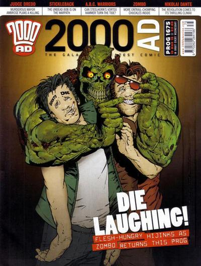 Cover for 2000 AD (Rebellion, 2001 series) #1675