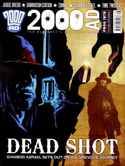 Cover for 2000 AD (Rebellion, 2001 series) #1678