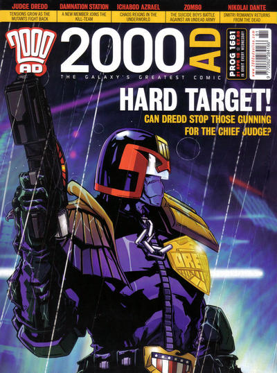 Cover for 2000 AD (Rebellion, 2001 series) #1681