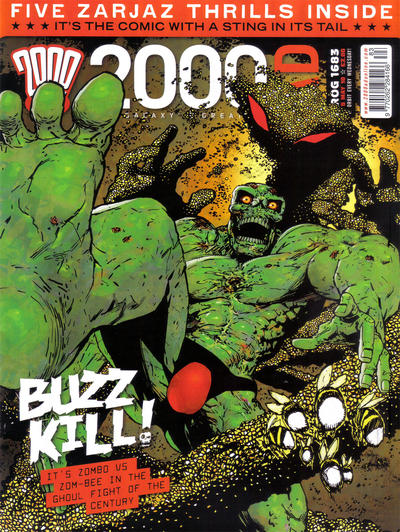 Cover for 2000 AD (Rebellion, 2001 series) #1683