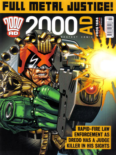 Cover for 2000 AD (Rebellion, 2001 series) #1684
