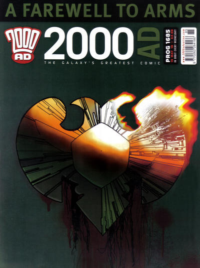 Cover for 2000 AD (Rebellion, 2001 series) #1685