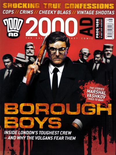 Cover for 2000 AD (Rebellion, 2001 series) #1686