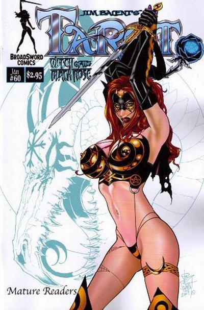 Cover for Tarot: Witch of the Black Rose (Broadsword, 2000 series) #60