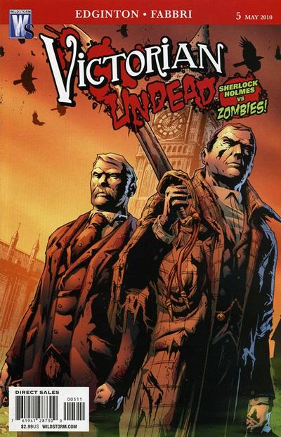 Cover for Victorian Undead (DC, 2010 series) #5