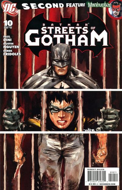 Cover for Batman: Streets of Gotham (DC, 2009 series) #10