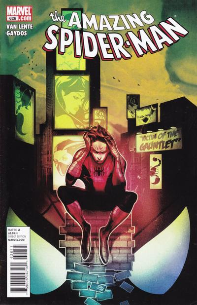 Cover for The Amazing Spider-Man (Marvel, 1999 series) #626