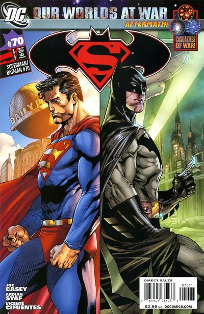 Cover for Superman / Batman (DC, 2003 series) #70
