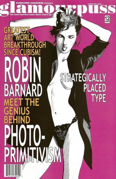 Cover for glamourpuss (Aardvark-Vanaheim, 2008 series) #12