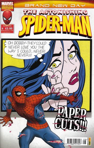Cover for Astonishing Spider-Man (Panini UK, 2009 series) #8
