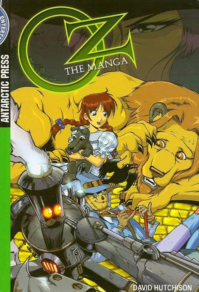 Cover for Oz: The Manga (Antarctic Press, 2006 series) #1