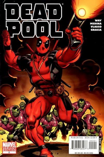 Cover for Deadpool (Marvel, 2008 series) #2 [McGuinness Cover]
