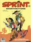 Cover for Sprint (Semic, 1986 series) #28 - Svarthattene [2. opplag]
