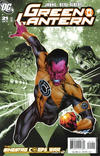 Cover for Green Lantern (DC, 2005 series) #21 [Second Printing]