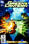 Cover for Green Lantern (DC, 2005 series) #21 [Andy Kubert Cover]