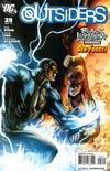 Cover for The Outsiders (DC, 2009 series) #28