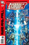 Cover for Justice League of America (DC, 2006 series) #43 [Standard Cover]